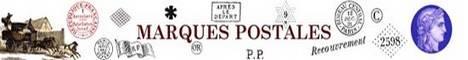 Toutes les marques postales de France